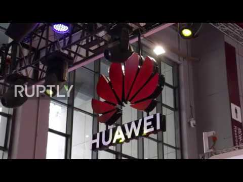China: Huawei Announces Deals To Supply Tech To Car Industry At Shanghai Auto Show