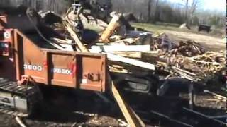 Video still for Hultdins Grapple on Cat Mini Excavator