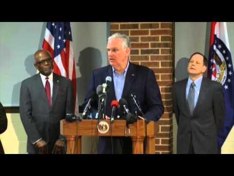 Missouri Governor Jay Nixon Speaks Ahead Ferguson Grand Jury Decision