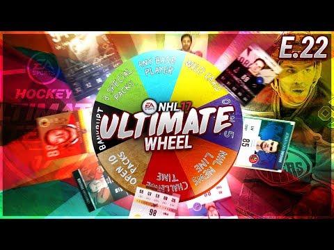 ULTIMATE WHEEL - S1E22 - NHL 17 Hockey Ultimate Team