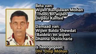 Overleden Delip Mohan