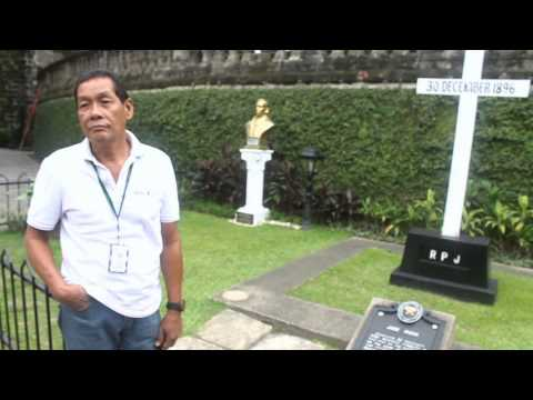Rizal - Paco Cemetery Documentary PS4A