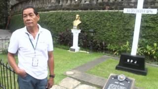 Rizal - Paco Cemetery Documentary PS4A