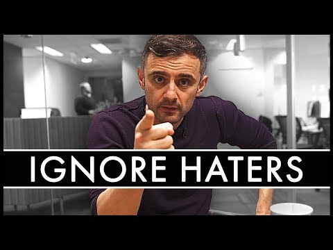 How To Deal With HATERS Motivational Video | Gary Vaynerchuk