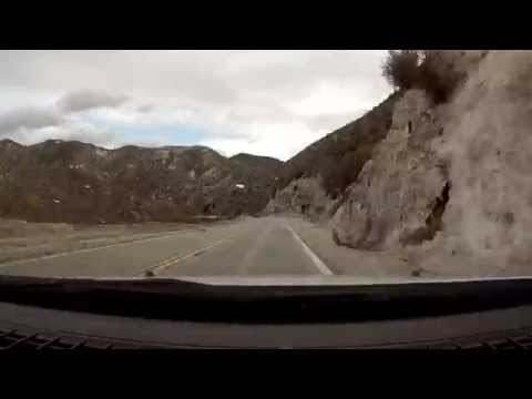 Via the Crest - CA Hwy 2 ACH From Palmdale to Los Angeles - Time Lapse