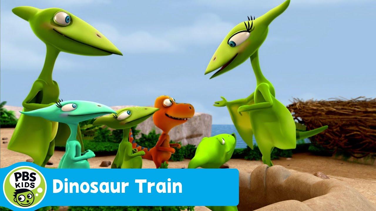 DINOSAUR TRAIN | Camouflage Cloak | PBS KIDS - YouTube