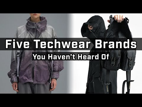 Top 5 Alternative Techwear Brands! Ep. 6