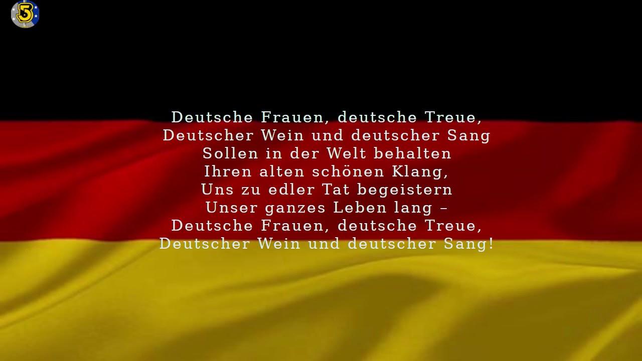 Deutschland Hymne Verboten