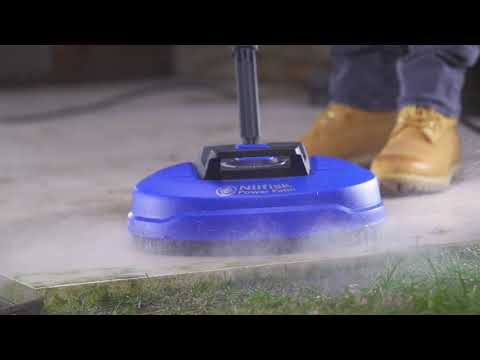 Nilfisk Power Patio Cleaner Click&Clean Accessory (with E 145.4-9 P Xtra Pressure Washer)
