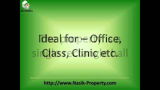 650 sq ft Hall For Rent In Nashik by Commercial Property Expert