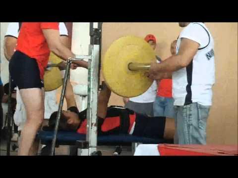 Evento C A Diciembre 2013 Powerlifting Nicaragua parte #2 Bench Press Mujeres