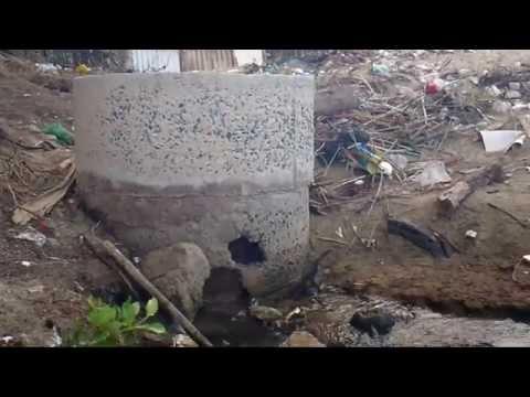 Ô nhiễm môi trường ven biển ở một làng chài