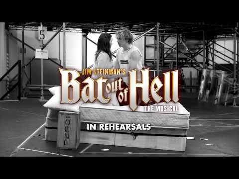 Bat Out Of Hell the Musical in Rehearsals
