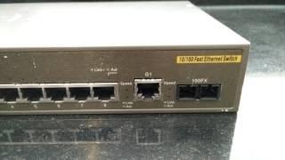 D-Link DES-3010F 10-Port Managed Layer2 LWL FX Uplink Switch