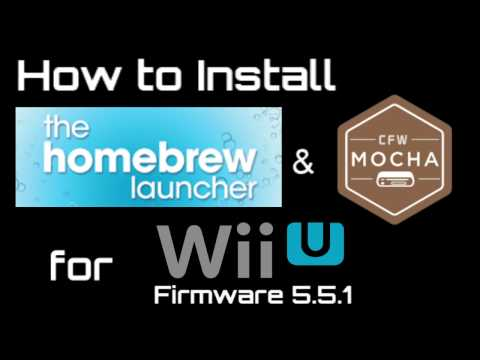 how to use wup installer gx2