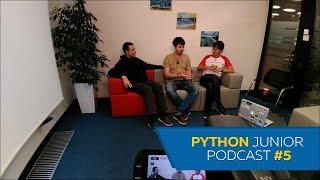 Python Junior Podcast. Выпуск #5 | За что мы не любим HR-ов. Как найти время на жизнь и опенсорс