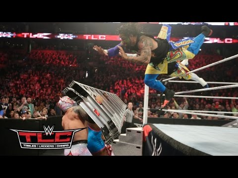 WWE Network: The Usos vs. Lucha Dragons vs. The New Day: WWE TLC 2015