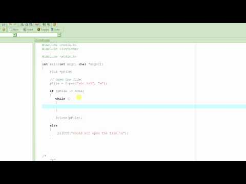 C Programming Tutorial # 40 - Files - Creating a Simple Database - Part 1 [HD]