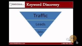 Search Engine Friendly Web Development:  Keyword Discovery