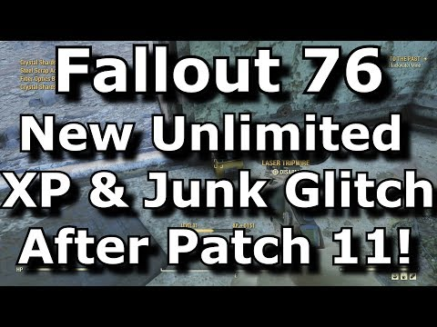 fallout-76-new-unlimited-xp-&-junk-glitch-after-patch-11!-disarm-trap-exploit!-(fallout-76-glitches)