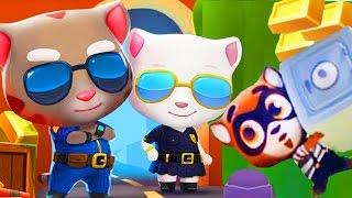 ГОВОРЯЩИЙ ТОМ и друзья ЗА ЗОЛОТОМ #8 ГОВОРЯЩАЯ АНДЖЕЛА котенок для детей игровой мультик