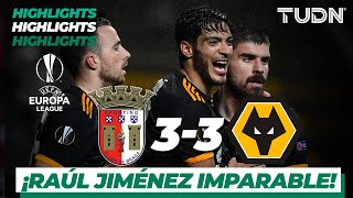 Highlights | SC Braga 3 - 3 Wolverhampton | Europa League - J5 - Grupo K | TUDN