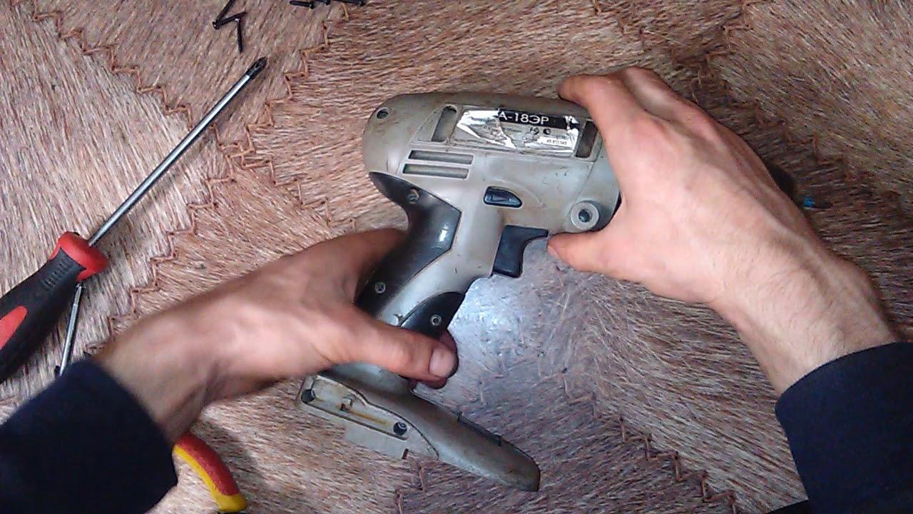Шуруповёрт интерскол да-12эр ремонт своими руками фото 918