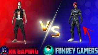 CUSTOM 1 V 1 WITH FUKREY GAMERS (HIMANSHU) || Fukreygamers || RK || RKGAMING