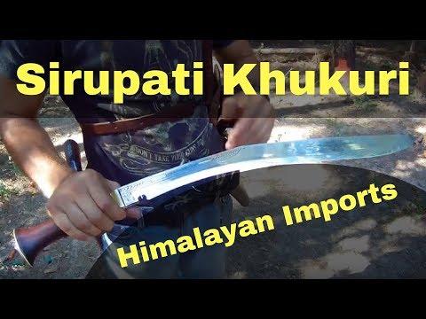 🅺🅸🅻🅻🅴🆁 🅺🅷🆄🅺🆄🆁🅸 - Himalayan Imports - Sirupati Kukri - Best Khukri Weapon Review Video
