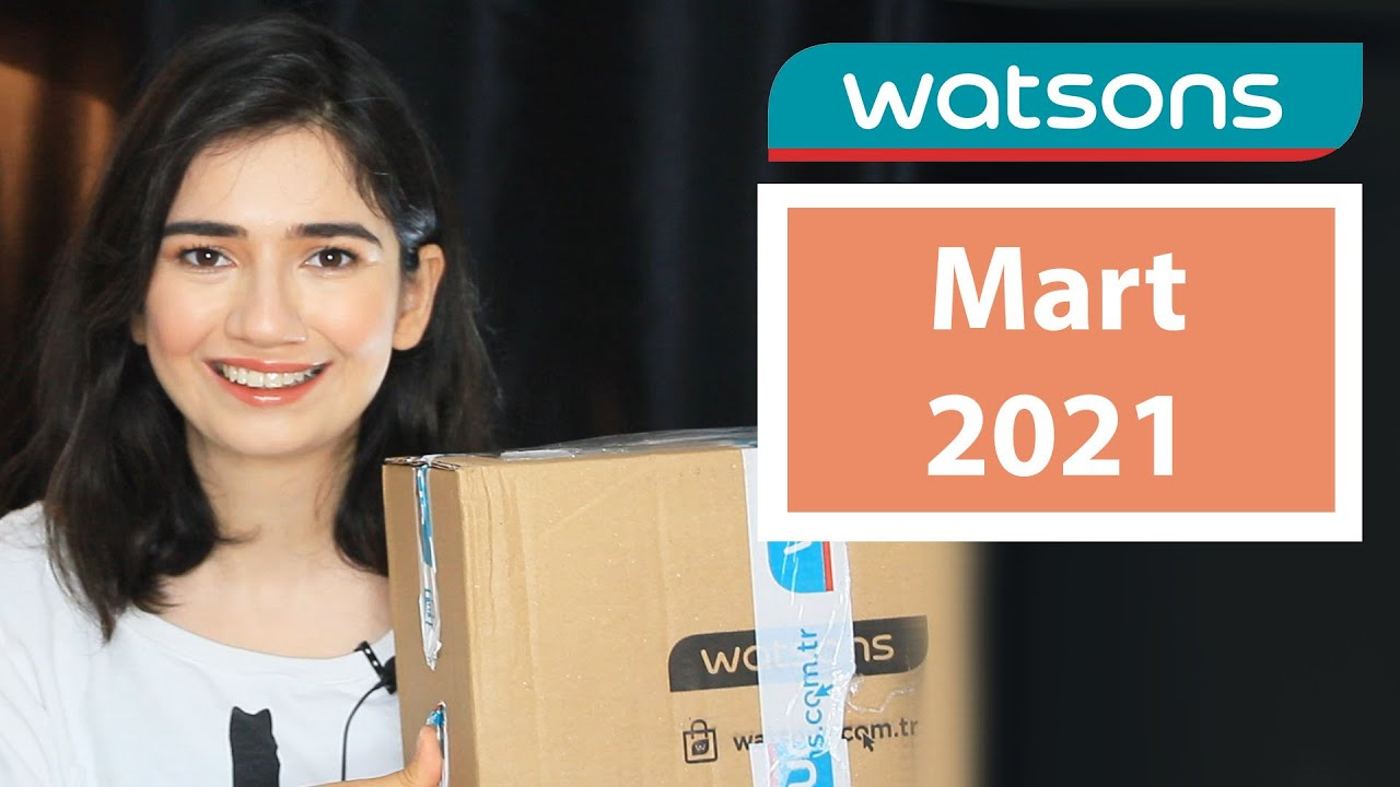 Watsons Sürpriz Kutu Alışverişi - Mart 2021