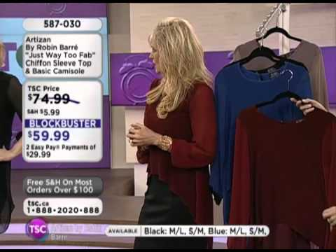 """Artizan by Robin Barre live on The Shopping Channel """"Just Way Too Fab"""""""