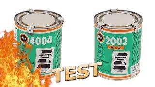 тест клея на горючесть