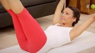 Pilates Bauch Quickie: 3 Min Abs Workout