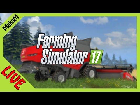 Farming Simulator 17 LIVE - Frisian March Map V1.8 #2 (100 aranyrög keresés)