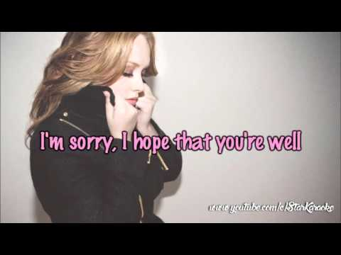 Adele - Hello [Karaoke/Instrumental]