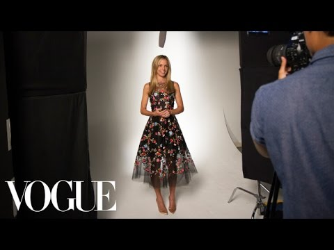 Oscar De La Renta Embroidered Floral Dress – From the Vogue Closet – Vogue