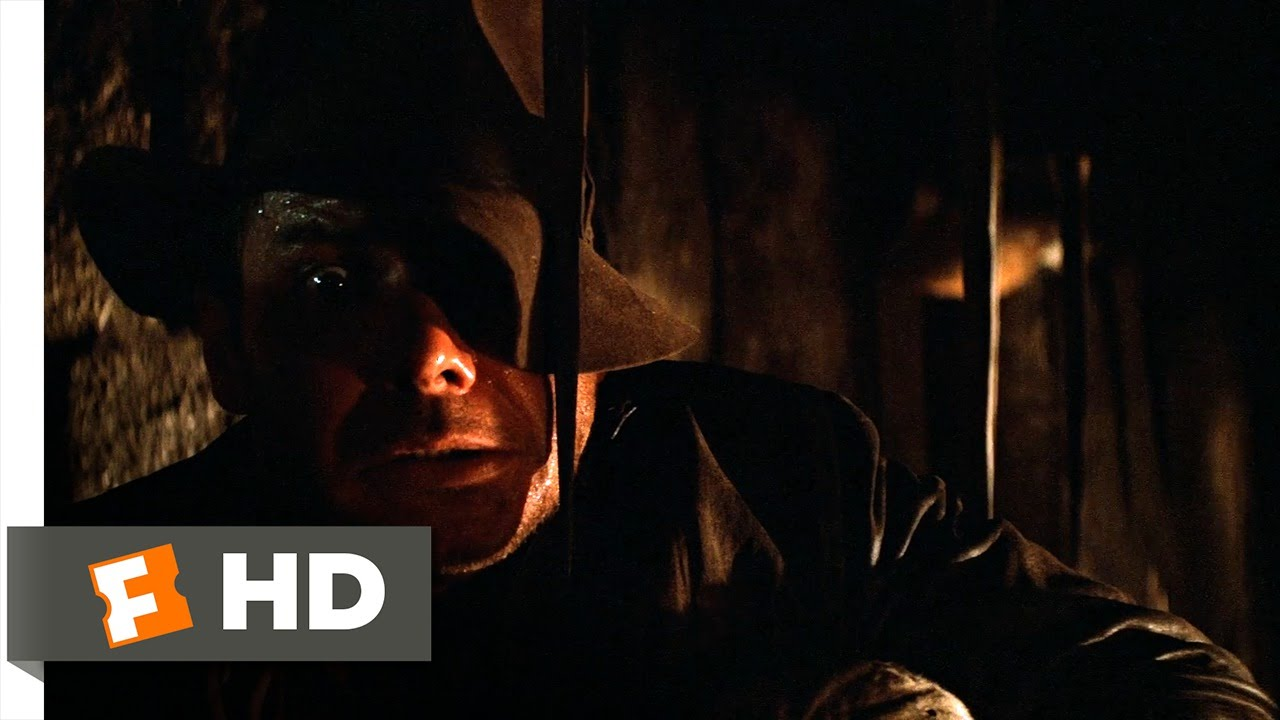 Indiana Jones and the Temple of Doom (4/10) Movie CLIP - Spikes and Bugs  (1984) HD