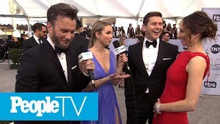 Allen Leech Reveals The Romantic Story Of How He Met His Wife At An EW Party! | PeopleTV