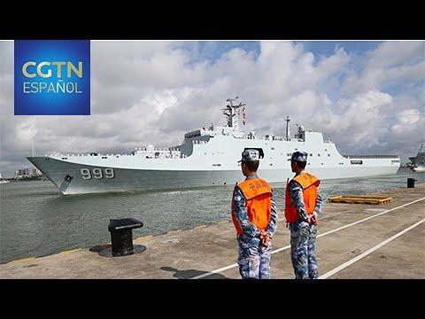 Una flota china construirá una base de apoyo en Yibuti