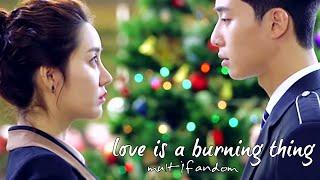 Multifandom ► Love is a burning thing