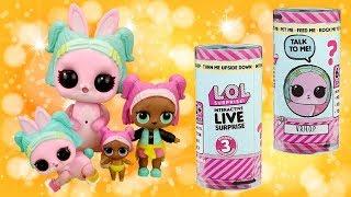New LOL Surprise Interactive Live Pets | L.O.L. Wave 2 VRHOP + Kittydoll Camping | Pet Series
