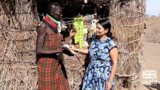International Development Secretary Priti Patel visits Kenya