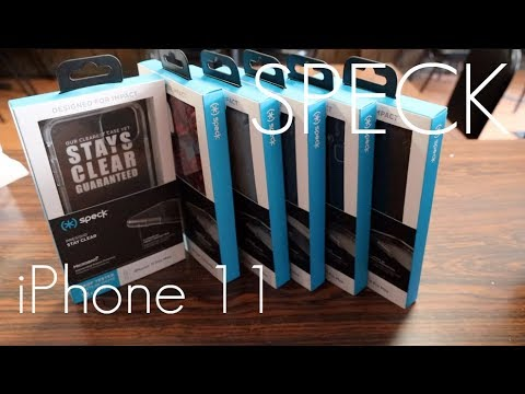 SPECK Cases - ENTIRE LINE UP -  iPhone 11 Pro / MAX -  Hands On Review