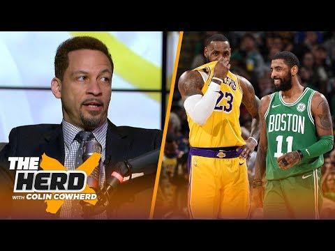 Chris Broussard discusses Lakers vs Celtics, Anthony Davis & NBA free agency rumors | NBA | THE HERD thumbnail