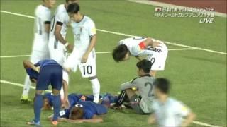 カンボジア 0-2 日本 たった2点 監督怒りあらわ 【2015/10/17】ロシアW杯アジア2次予選