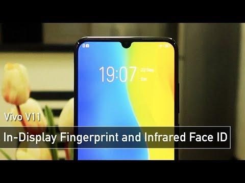 Vivo V11 In-Display Fingerprint & Infrared Face ID TEST | Zeibiz