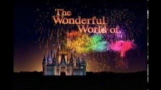 1998, The Wonderful World Of Disney on ABC (Opening)
