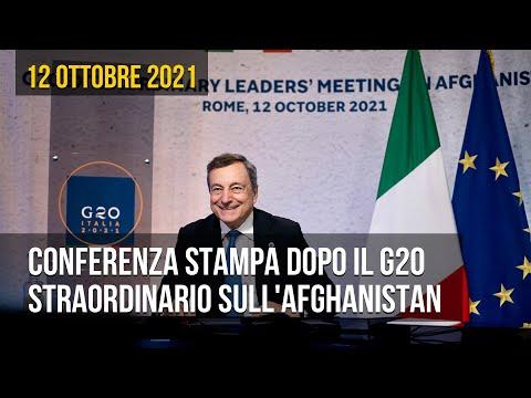 Com'è andato il G20 straordinario sull'Afghanistan