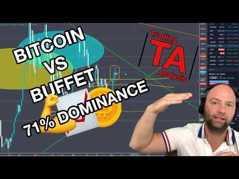 Bitcoin Vs Warren Buffet - Bitcoin: 71% Dominance