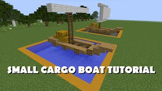 Detail Tutorial - Small Cargo Boat
